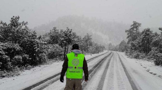 Durango: Arranca el 2020 con nieve y agua (El Siglo de Torreón)