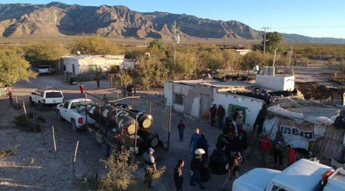 Coahuila: Reparten tinacos a zonas con escasez de agua en Madero (El Siglo de Torreón)
