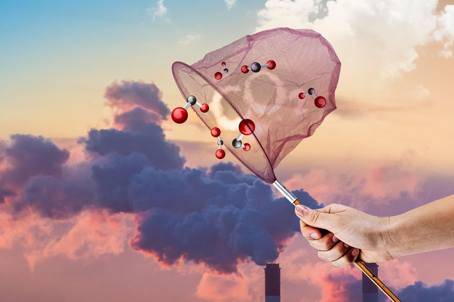 México: Aportación de la UNAM para capturar gases de efecto invernadero (Gaceta UNAM)