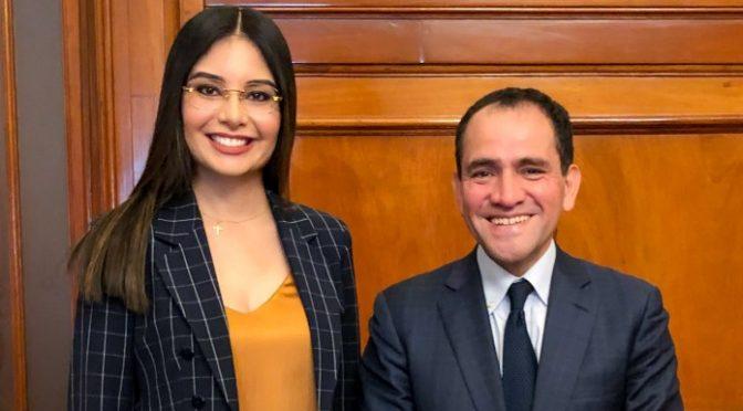 Nayarit: Se reúne Geraldine Ponce con el Secretario de Hacienda, hablaron del agua potable en Tepic (NTV)