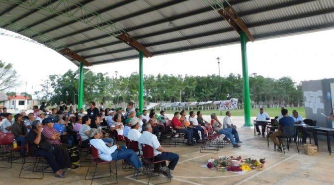 Campeche: Exigen mayas frenar megaproyectos que dañan el agua (Pá66ina)