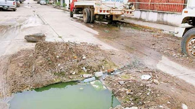 CDMX: Colapso del drenaje desata crisis sanitaria; Pánuco, Veracruz (Excelsior)