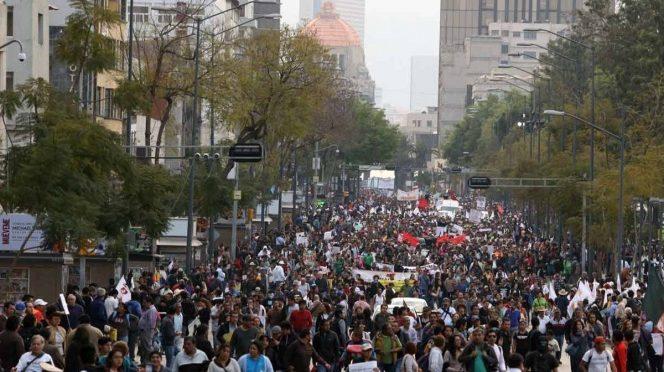 CDMX: Viernes de marchas, bloqueos y concentraciones (Excelsior)