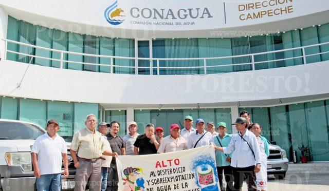 Campeche: Protesta contra explotación de agua en Chenes (Por Esto!)