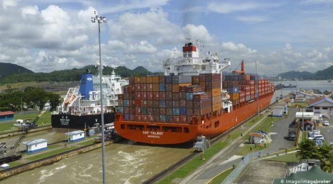 Falta de agua por crisis climática, el mayor reto del Canal de Panamá (DW)