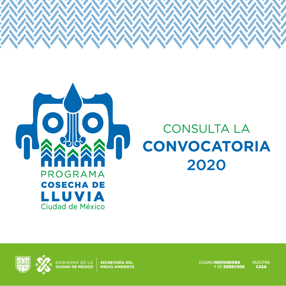 Convocatoria 2020: Programa Cosecha de Lluvia