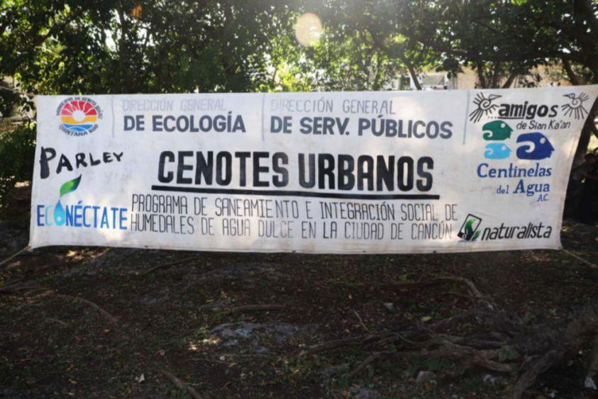 Quintana Roo: Reforzarán durante 2020 programa de saneamiento de cenotes en Cancún (Turquesa News)