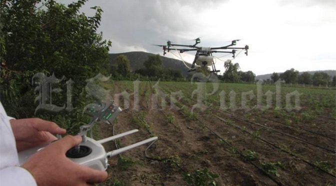 Puebla: Con drones vigilarán ducto Tuxpan  (El Sol de Puebla)