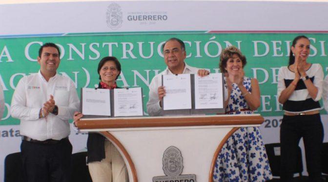 Guerrero: Firman convenio Conagua y Estado para realizar obras de infraestructura, agua potable, alcantarillado y saneamiento (News Report)