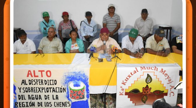 Campeche: Menonitas dejarían sin agua a 36 poblaciones (Tribuna Campeche)