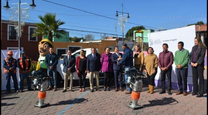 Puebla: Más equipo para cuidar el agua de Cholula (central)