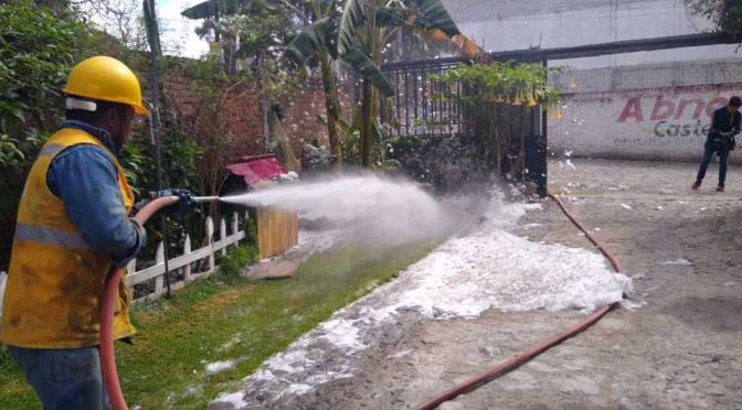 Puebla: Atendió Agua de Puebla descarga furtiva en la colonia Reforma sur (Milenio)