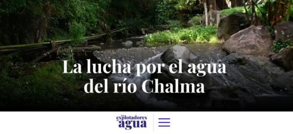CDMX: Explotadores del agua: la lucha por el río Chalma (Aristegui Noticias)