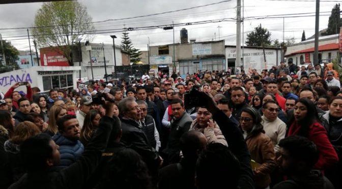Edomex: Desalojan campamento de opositores a la construcción de un pozo y redes hidráulicas en Chimalhuacán (La Silla Rota)