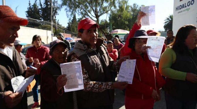 Mineral de la Reforma: Exigen vecinos de Azoyatla a Caasim solución a desabasto de agua (Milenio)
