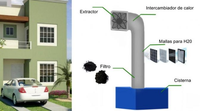 Coahuila: Ingenieros buscan extraer agua del aire (Milenio)
