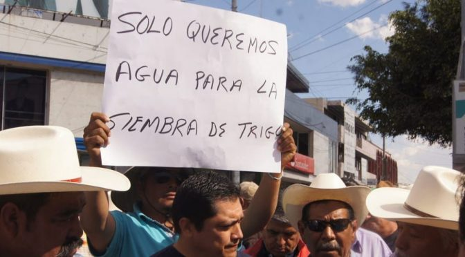 Guanajuato: Perderán 357 mdp en el campo por falta de agua (Periódico Correo)
