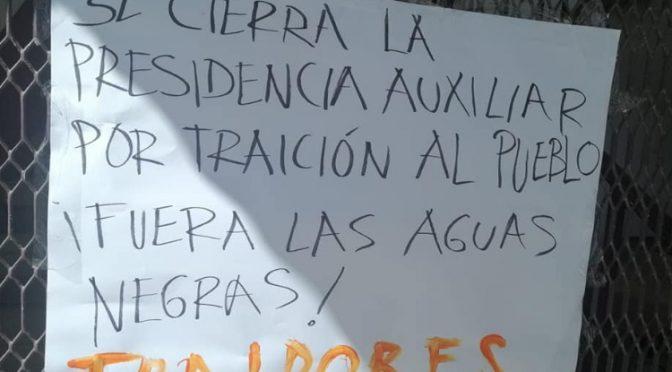 Oaxaca: Toman presidencia de Zacatepec, edil no presentó amparo para frenar contaminación de río (MPT noticias)