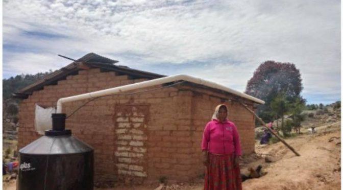 Chihuahua: Construirá JCAS mil 254 cosechas de agua en la Tarahumara (GBM Radio)