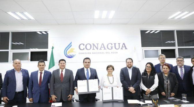 Acuerdan Michoacán y CONAGUA obras en 62 municipios (Cambio de Michoacán )