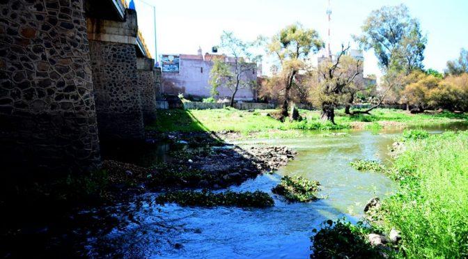 Michoacán: encauzan agua por arroyo del Río Lerma en La Piedad (Quadratín)