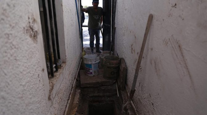 Chihuahua: tienen desde octubre problemas con el drenaje (El Diario de Juárez)