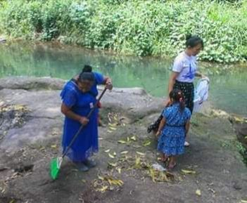 Oaxaca: Limpian ríos de Acatlán (El Mundo)