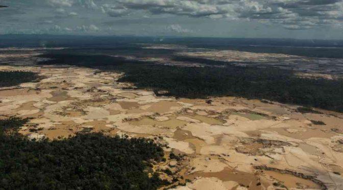Tras el rastro del mercurio que envenena la Amazonia (Sostenible)