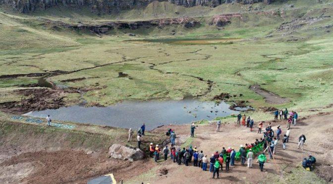 Perú: Siembra y cosecha de agua: Anuncian inversión de S/44 millones en proyectos en Ica y Huancavelica (Construcción y Vivienda)