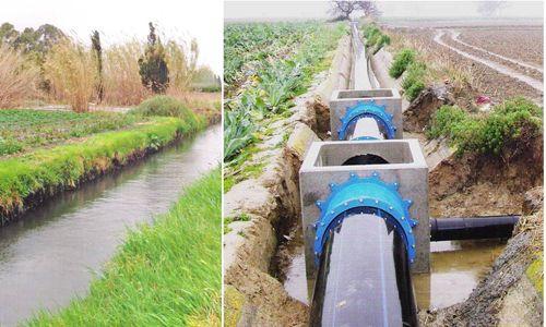 Durango: Aplican 17 mdp para rehabilitar canales (El Sol de Durango)