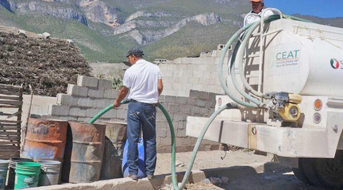 Tamualipas: Se secan los pozos de agua en el Altiplano (Expreso.press)