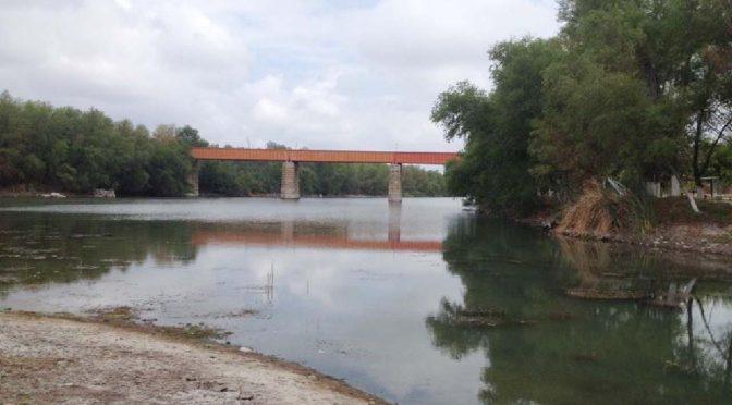 Coahuila: Casi seca presa y Río Sabinas (Periódico La Voz)