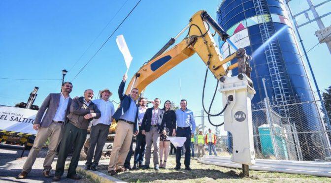 Durango: arranca Salum renovación de redes de agua potable (La Voz de Durango)