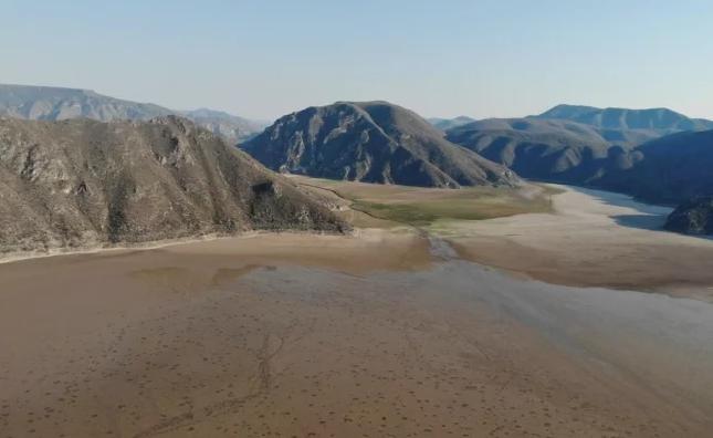 Hidalgo: Laguna de Metztitlan pierde 95% de su agua; alertan por sequía (El Universal)