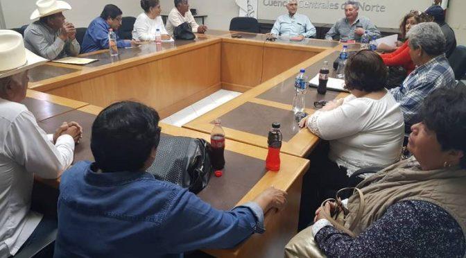 Durango: Cardenistas exigen recarga de los mantos acuíferos ante Conagua (noticias del Sol de La Laguna)