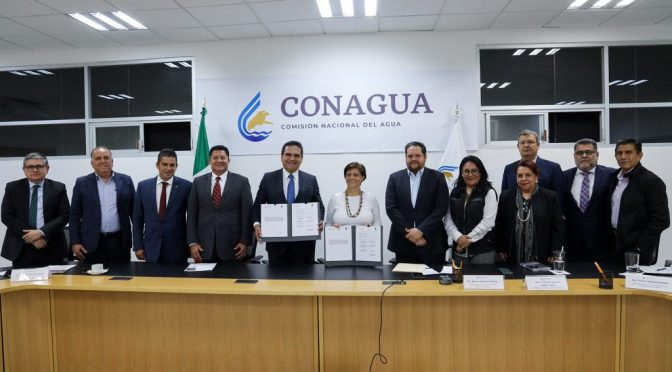 Michoacán: Conagua y Gobierno del estado conjuntan esfuerzos para impulsar acciones en materia hidráulica (News Report)