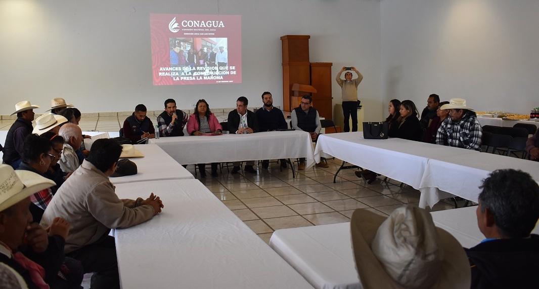 San Luis Potosí: ejidatarios de La Maroma piden al presidente que construya la presa (Código San Luis)