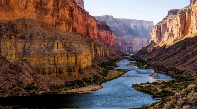 El río Colorado, en peligro por el aumento de las temperaturas (El Ágora)