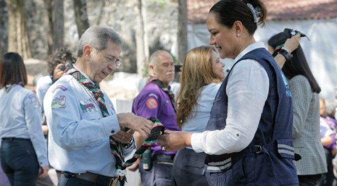 México: Scouts del país y ONU entregan Insignia Mundial Mares Limpios (Cambio)