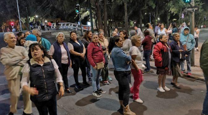 CDMX: bloquean el Viaducto y Doctor Vértiz por falta de agua (Milenio)
