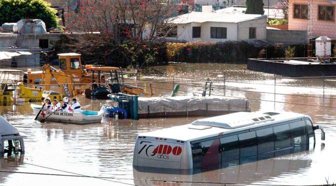 Edomex: A 10 años del desbordamiento del canal de La Compañía en Chalco (Heraldo de México)