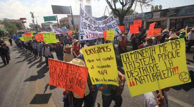 Oaxaca: Cancela juzgado operación de mina de San Pedro Quiatoni (Desinformemonos)