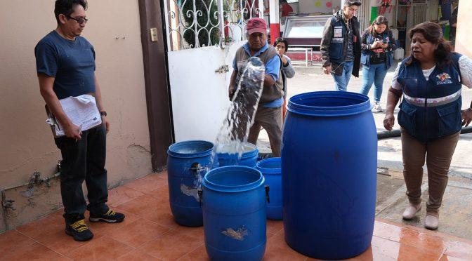 CDMX: Ciudadanos proponen ley que garantice la distribución equitativa de agua (Pie de Página)