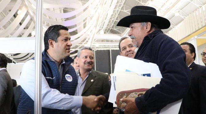 Guanajuato: Entregan apoyo a productores en Expo Riego 2020 (Milenio)