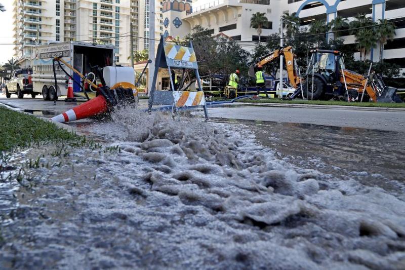 Estados Unidos: Graves derrames de aguas residuales afectan a Florida (Futuro Verde)