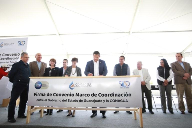 Guanajuato: Firman convenio de coordinación para el cuidado y el suministro del agua  (El Ciudadano)