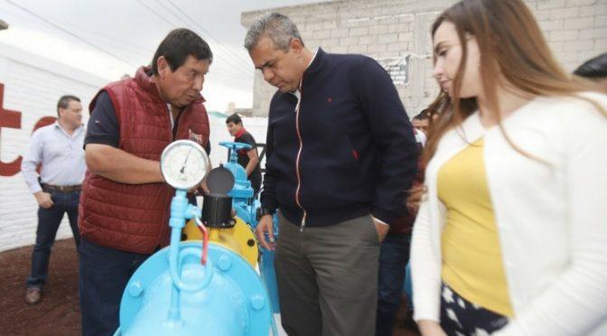 Edomex: Entregan dos pozos de agua en Ecatepec (La Jornada)