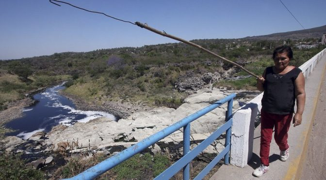Jalisco: El  estudio que alerta sobre contaminantes en el Río Santiago (En Portadas)