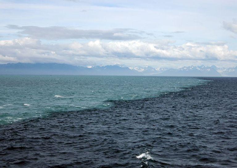 La interacción de masas de agua en la desembocadura del río Pánuco