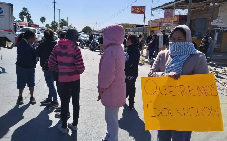 Coahuila: Manifestantes vuelven a bloquear boulevar de Torreón (Milenio)